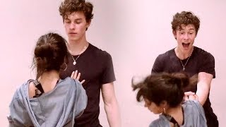 Shawn Mendes Drops Camila Cabello During Senorita Rehearsals!