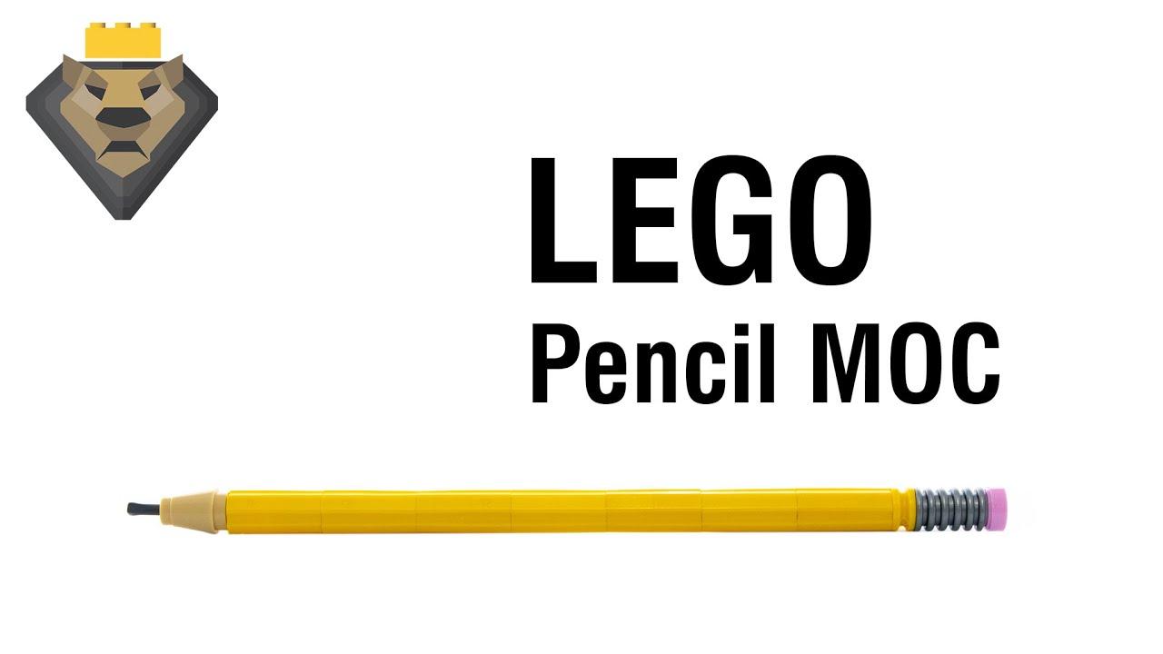 LEGO Pencil MOC & Tutorial