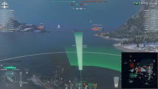 World of Warships - Captain Flint solo