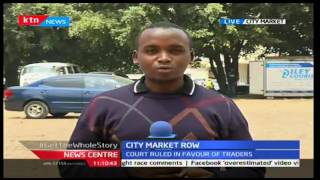 News Centre: City Market row between traders and private developer over parking lot, 24/9/2016