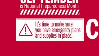 Prepare Early for Disasters with TRICARE