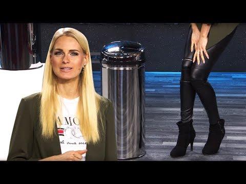 Der Deckel dieses Mülleimer öffnet sich automatisch! Mit Anne-Kathrin Kosch (März 2019) 4K UHD