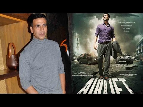 Akshay Kumar Says Everyone Should Talk About Airli
