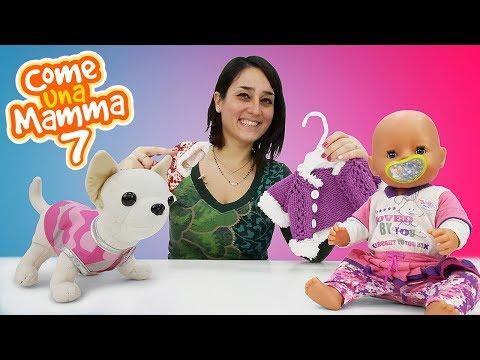 Vestiti per le bambole. Giochi per bambini. Bambola Nenuco