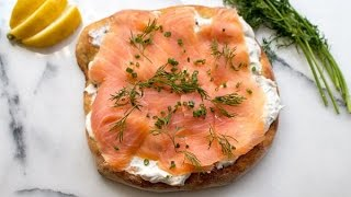 Wolfgang Puck's Smoked Salmon Pizza (Spago Copycat)
