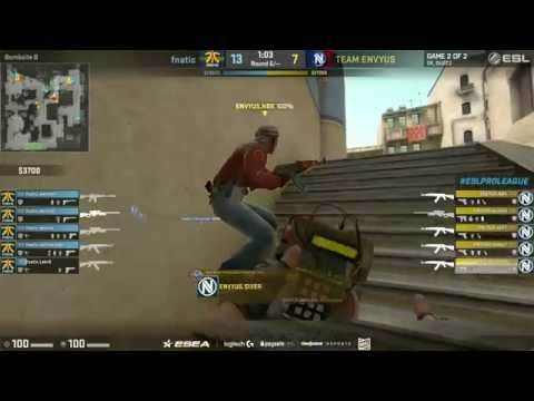 apEX doing a 1g against fnatic...