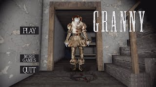 "GRANNY IS PENNYWISE!! (The ""IT"" Clown) 