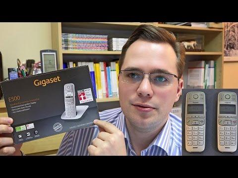 Schnurloses Seniorentelefon: Gigaset E500 und E500H im Test