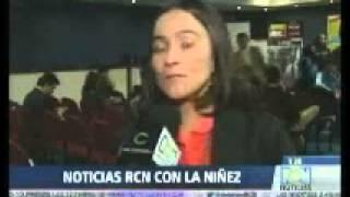 Incidencia RCN Lanzamiento La Huella de la Niñez en los medios