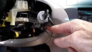 Hyundai Elantra 01-06 Ignition lock Cylinder Removal