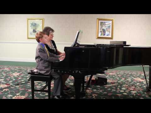 Piano Studio Recital on 06/09/2017 Ty playing