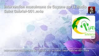Intervention radio saint Gabriel
