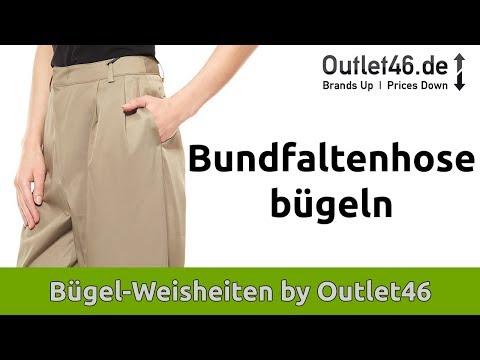 Bundfaltenhosen bügeln   Outlet46   Bügeltipps   Richtig Bügeln   Tipps von Nazli