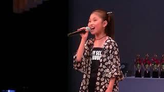 東京カラオケまつり2018  カトレア 小3 9歳『Be The One』Beverly