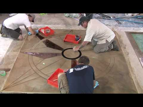 How To Cut Decorative Joints In Concrete By