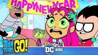 Teen Titans Go! | New Years Tradition | DC Kids