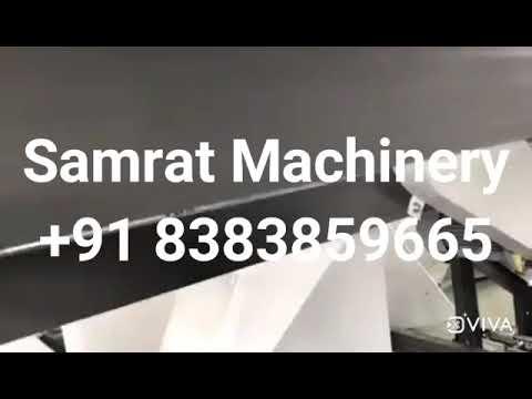 Samrat Machinery Automatic Non Woven Carry Bag Machine