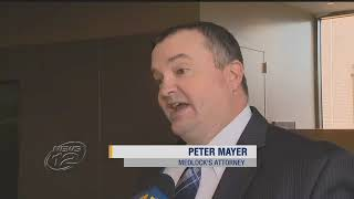 Peter Mayer on News 12 defending his client's Constitutional rights.