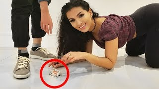 Dropping $100 Bill Prank (Social Experiment)