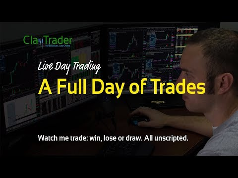 Live Day Trading – A Full Day of Trades