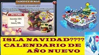 ISLA NAVIDAD ?? | CALENDARIO DE AÑO NUEVO | I. TORRE GLACIAL | EVENTO NAVIDAD | DRAGON CITY | #10