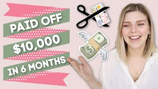 How I Paid Off $10,000 of Credit Card Debt in 6 Months