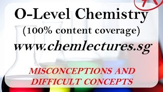 GCE O Level Chemistry - Mole Concept - Limiting Reagents - Misconceptions And Difficult Concepts