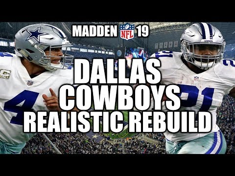 Download Rebuilding The Dallas Cowboys Madden 19 Connected Franchise