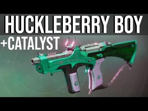 RIDING THE BULL: Huckleberry + Catalyst | Destiny 2 Shadowkeep