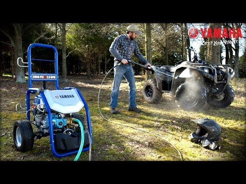 2020 Yamaha PW3028A/B Pressure Washer in San Jose, California - Video 1