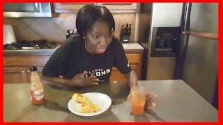 Weird Black Lady Does Hot Sauce & Twinkie Challenge!