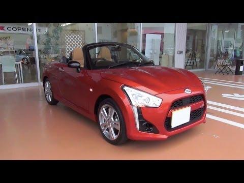 2014 Daihatsu Copen Robe Exterior & Interior Video