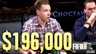 This Will Make You Cry... DEVASTATING Poker Hand For $196,000