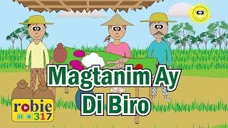 Magtanim Ay Di Biro Animated (Awiting Pambata) | Filipino / Tagalog Folk Song