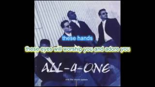 """""""These Arms"""" by All 4 ONE"""