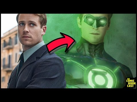 Armie Hammer Green Lantern in Justice League Tease & Thoughts
