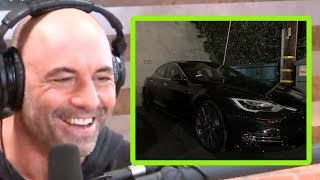 Joe Rogan's New Tesla is Preposterous!