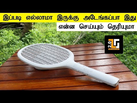 Electric Mosquito Swatter unboxing and review