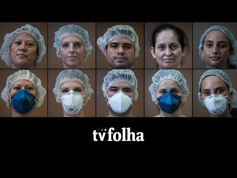 Profissionais de hospital em SP relatam dia a dia de medo, esperança e saudade