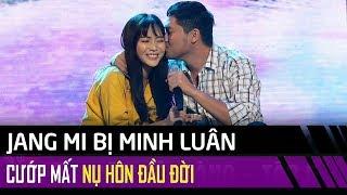 Jang Mi bị Minh Luân 'cướp' nụ hôn đầu đời tại sân khấu Tuyệt Đỉnh Song Ca Cặp Đôi Vàng Tập 5
