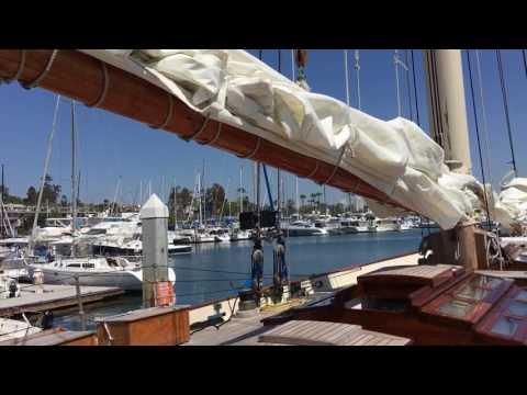 Yacht America in Coronado Video