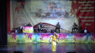 Цветкова Ксения, балади+драм соло юниоры - 2 место