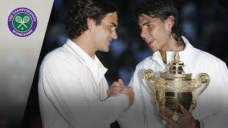 Roger Federer v Rafael Nadal: Wimbledon Final 2008 (Extended Highlights)