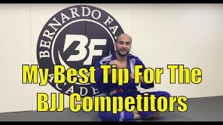 The Main Thing I Did In My BJJ Competition Career (Tip For BJJ Competitors)