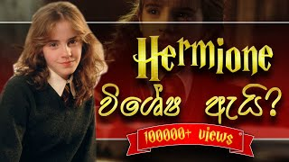 Hermione Granger ගේ ජීවිත කතාව   Life Of Hermione Granger   Harry Potter Sinhala Explaining