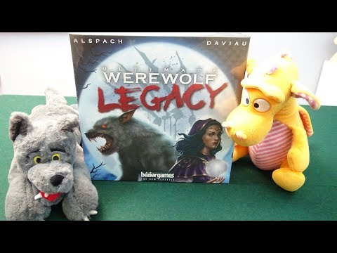 Ultimate Werewolf Legacy - Unboxing (No Spoilers)