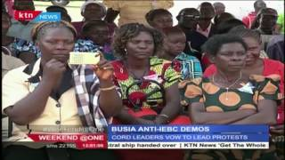 Busia to stage Anti IEBC demonstration this coming Monday.