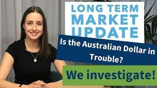 A Long Term Look at The Australian Dollar | AUD against USD, EUR, GBP & NZD.