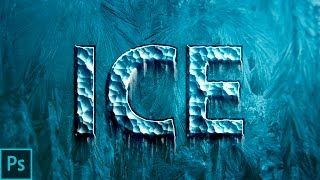 How To Create Ice Or Frozen Text Effect In Photoshop (Adobe Photoshop CC 2017 Tutorial)