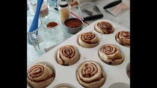 gfJules Makes 52 Minute Gluten Free Cinnamon Rolls - -Yeast-Free, Vegan & Dairy-Free, too!